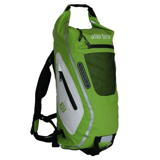 Ryggsäck Grön/Vit 20L