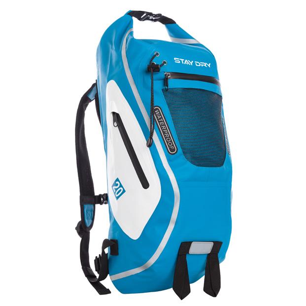 Utö Blå vit – Staydry.nu – Vattenavstötande väskor   jackor. e31608fcd950b